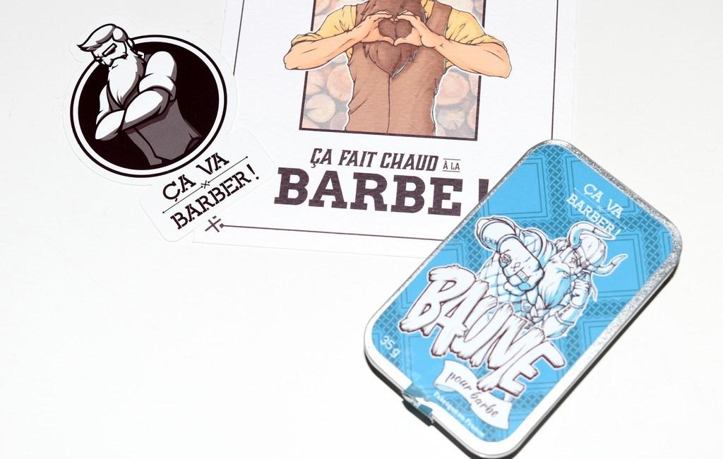 Baume à barbe ça va Barber