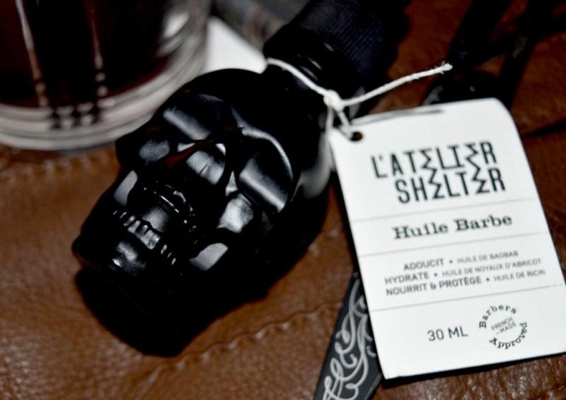 L'huile à barbe Skull L'Atelier Shelter