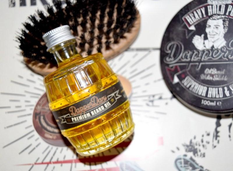 Huile à Barbe Dapper Dan, un soin efficace au parfum raffiné - test & avis