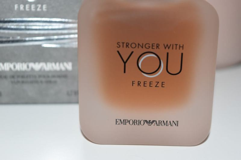 Test de Stronger With You Freeze Emporio Armani