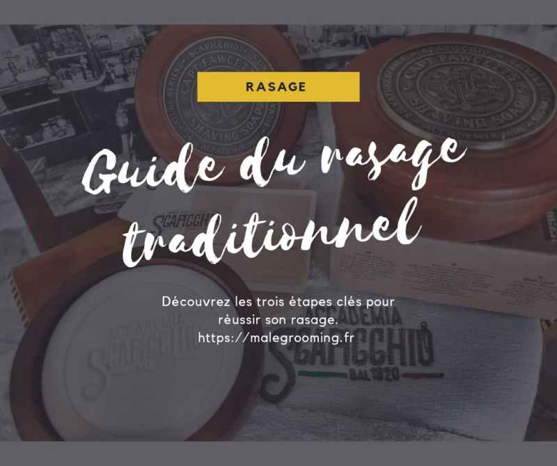 guide du rasage traditionnel