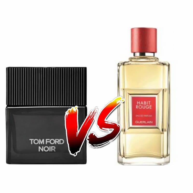 Tom Ford Noir VS Habit Rouge