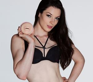 Stoya with mouth Fleshlight