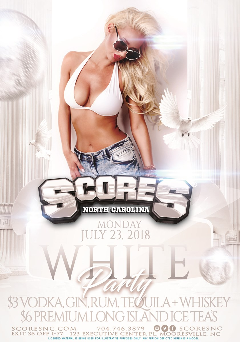 White Party @ SCORES Gentlemen's Club | Mooresville | North Carolina | United States