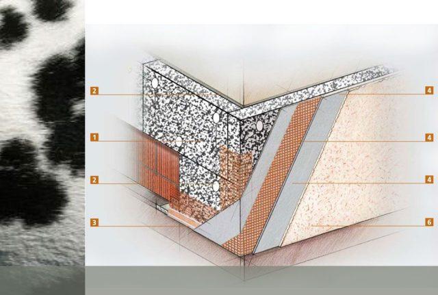 Fassadendämmung Dalmatiner