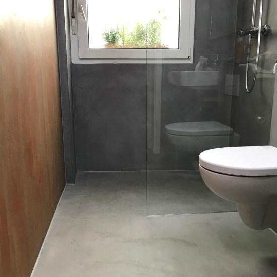 Fugenlose Badezimmer und fugenlose Böden | Maler Trynoga aus Wuppertal