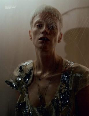 Kristen McMenamy / LOVE Magazine / In Vivienne Westwood
