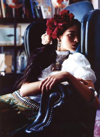 Maria Carla Boscono for Harper's Bazaar