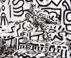 Annie Leibovitz, Keith Haring, 1986