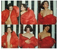 Red Coat series: Paloma Picasso, 1975