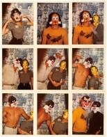 Mask series: Manuel Papatakis, Gilles Millinaire, Jessica Lange e Jean Eudes Canival, Londra, 1975