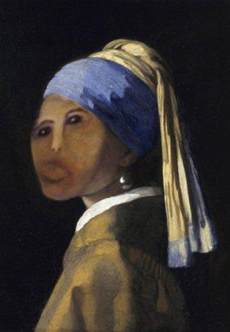 Ecce Homo - Ragazza col turbante - Johannes Vermeer