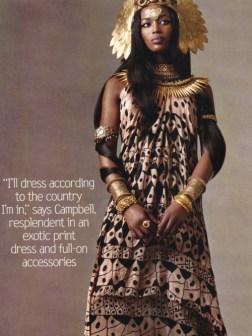 Naomi Campbell, 2000s