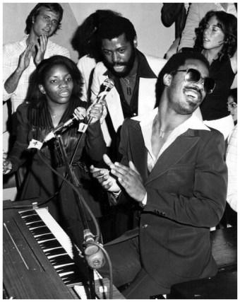 Stevie Wonder and Teddy Pendergrass, Studio 54, 1977