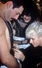 Steve Strange and Freddie Mercury