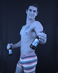 Some male strippers are also bartenders.