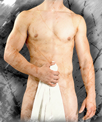 Towel Show Male Stripper