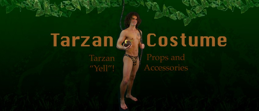 Tarzan costume for male strippers
