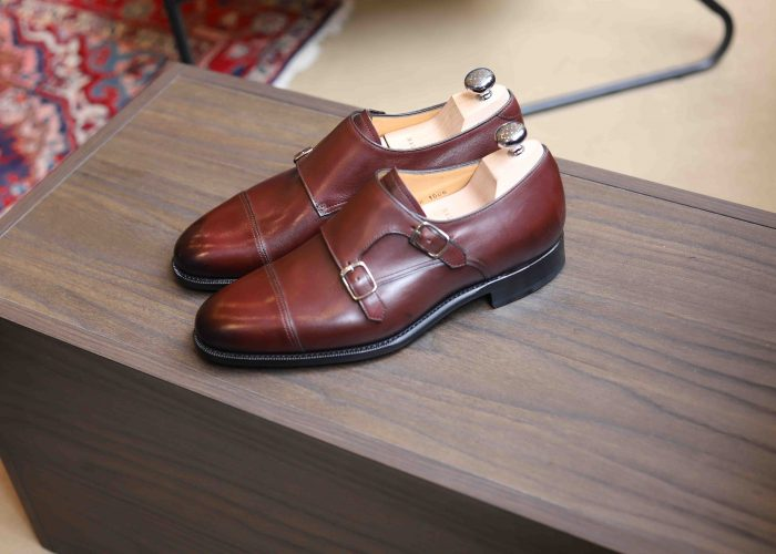 SCAPIN DOUBLE BOUCLE BORDEAUX MALFROID MONK