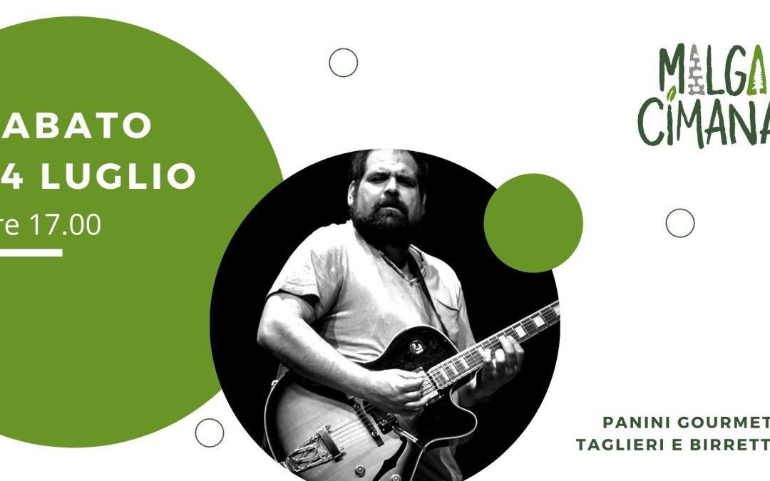 Live music a Malga Cimana con Daniele Valle