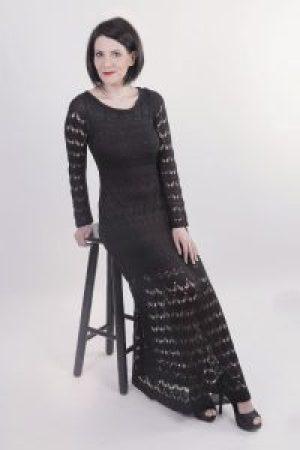 Vestido Preto Inteiro Banquinho - CS