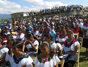 Ejidatarios de Bachajón, Chiapas denuncian despojo de tierra y anuncian su decisión de recuperarlas.