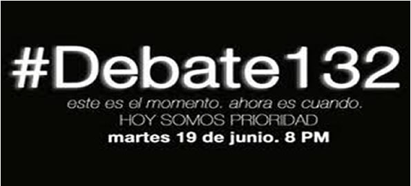 Hoy tercer debate presidencial con la ausencia de Peña Nieto #YoSoy132