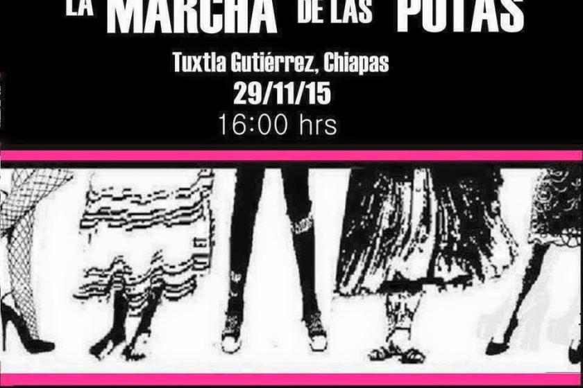 México se une a La Marcha de las Putas