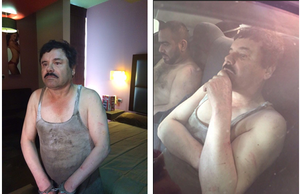 Capturan al «El Chapo»…otra vez