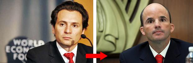Nuevos cambios  en el gabinete de Peña Nieto