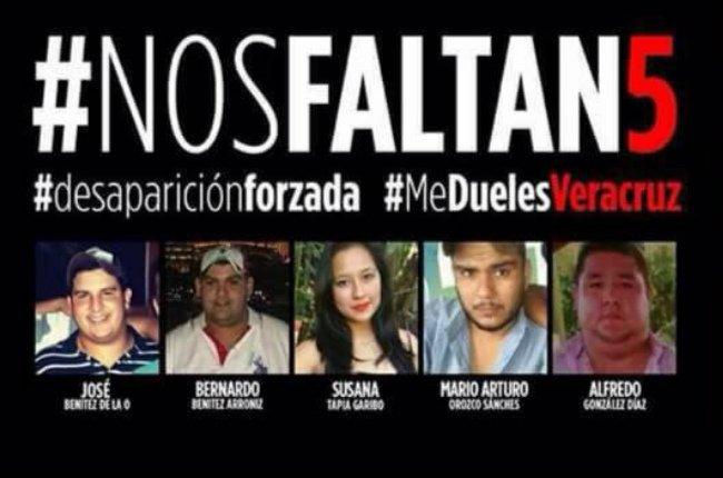 Nuevas declaraciones sobre la desaparición de cinco jóvenes en Tierra Blanca