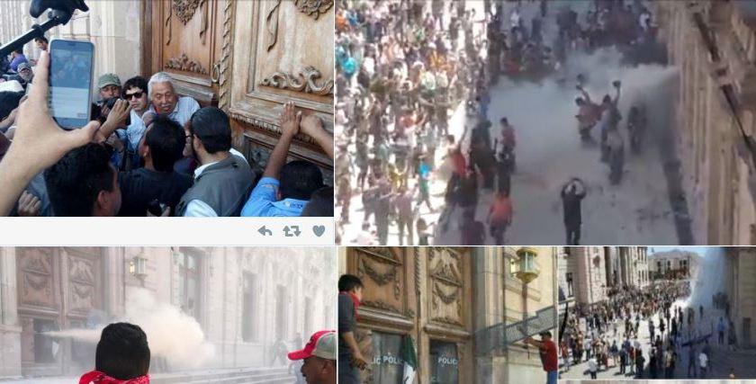 Así se vivió la manifestación contra César Duarte en Chihuahua