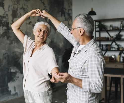 dança idoso
