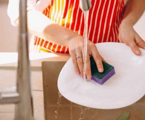 lavar louça