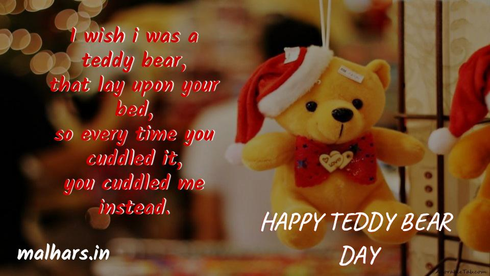 Teddy Bear Day Shayari | Happy Teddy Bear Day Shayari In Hindi |