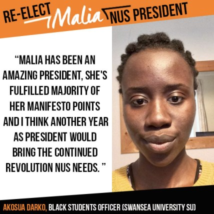 akosua swansea endorsement