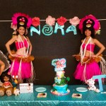 Malia's Hula Hut Birthday Party