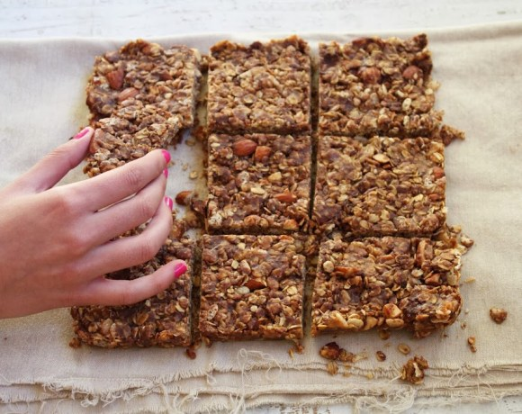 peanut butter + chocolate energy bars