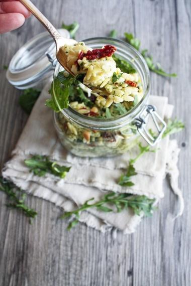 malibu kitchen orzo salad