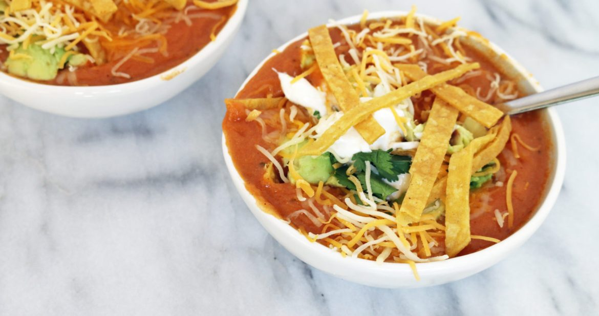 california tortilla soup