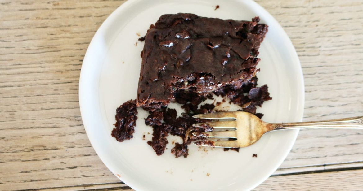grain-free chocolate zucchini cake