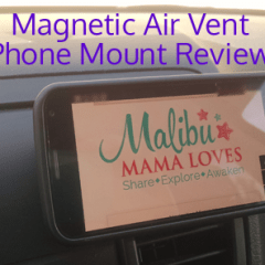 Magnetic Air Vent Phone Mount & Smartphone Stand Review