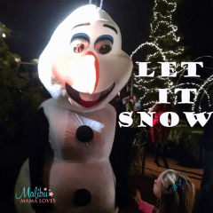 Let It Snow at The Four Seasons Westlake Village, CA!