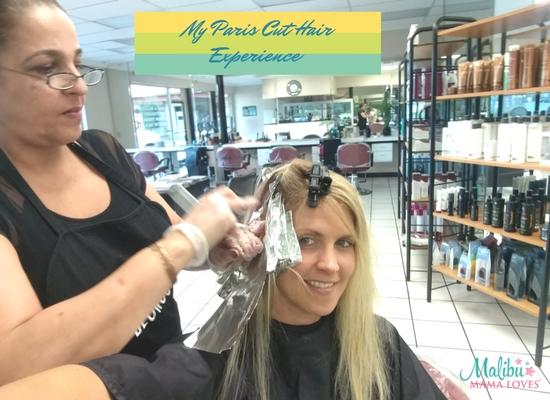 MY paris cut hair experience