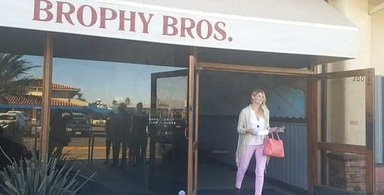 Brophy Bros. Restaurant in Ventura Harbor Village
