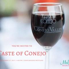 Taste Of Conejo + A Giveaway