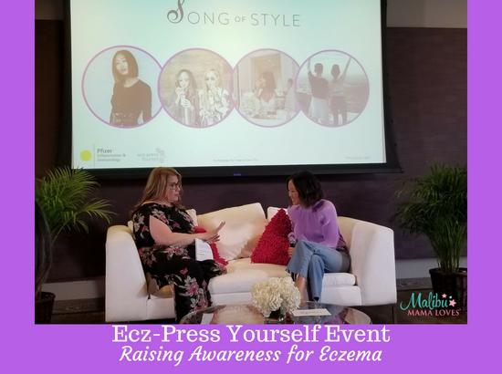 Ecz-Press Yourself Event - Raising Awareness for Eczema