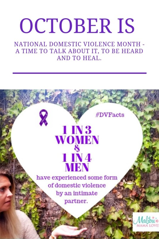Conscious Living - Domestic Violence Awareness Month