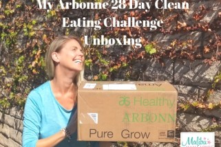 My Arbonne 28 Day Clean Eating Challenge Unboxing
