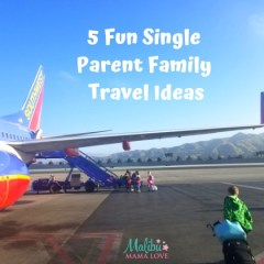 5 Fun Single Parent Family Travel Ideas